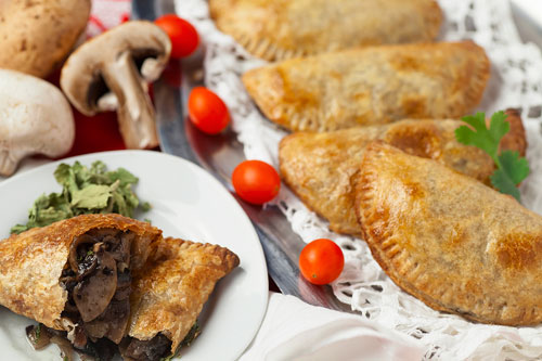Empanadas of Mushrooms with Epazote
